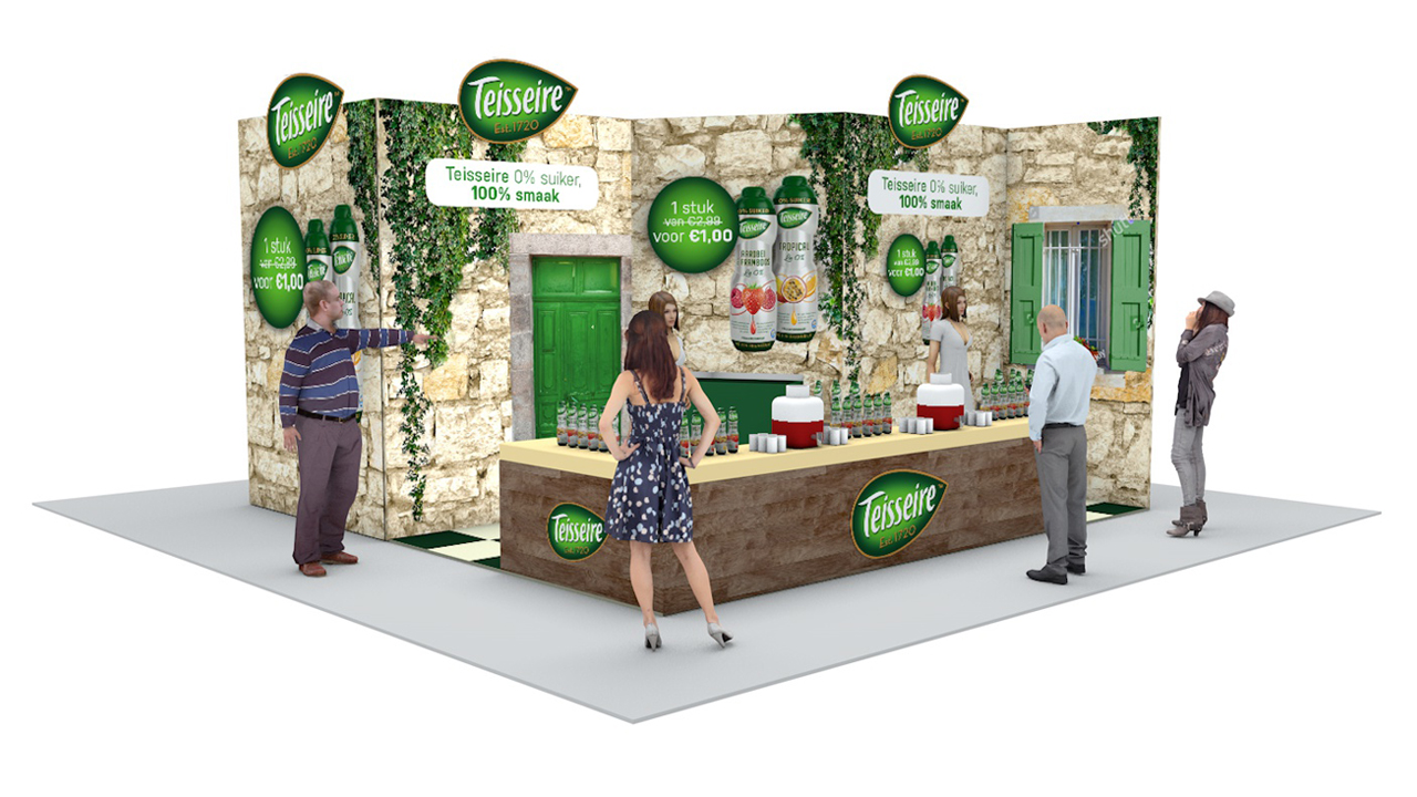 Teissiere 3d stand design