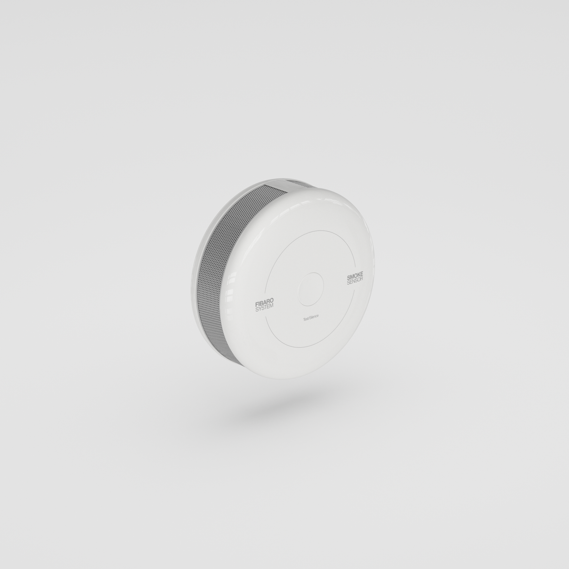 3d smoke sensor for samsung smartthings with cinema4d
